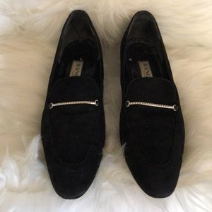 Rangoni Black Suede Loafers